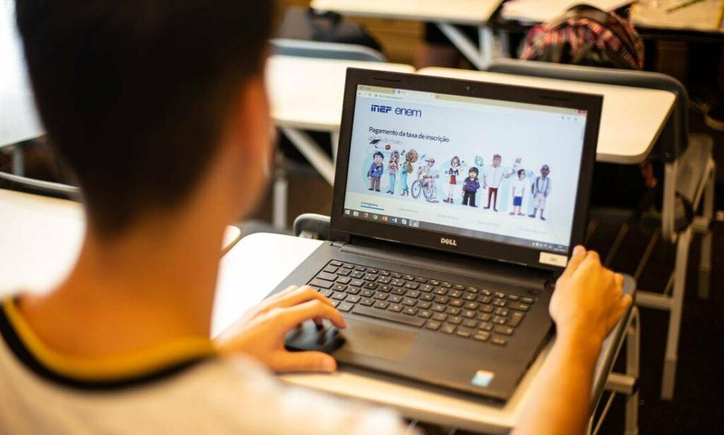 Primeira edição do Enem digital acontece neste domingo - Grupo O Diário